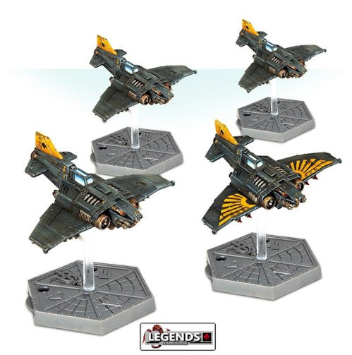 WARHAMMER:   Aeronautica Imperialis: Imperial Navy Thunderbolt Fighters