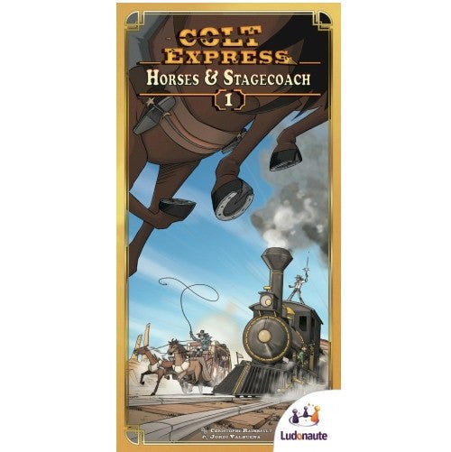 COLT EXPRESS - Horses & Stagecoach