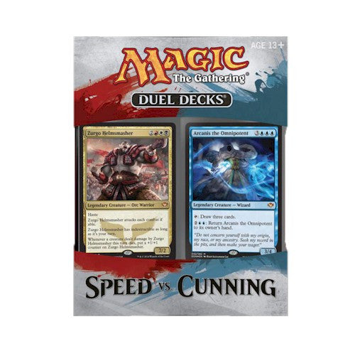 MTG DECKS - SPEED VS CUNNING