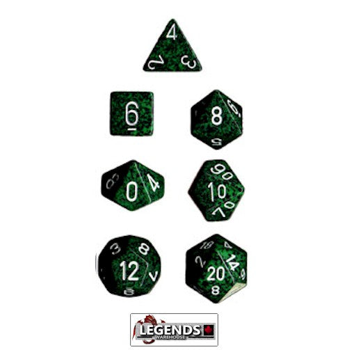 CHESSEX ROLEPLAYING DICE - Speckled Recon 7-Dice Set  (CHX 25325)