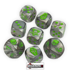 WARHAMMER 40K - KILL TEAM - Necrons Dice