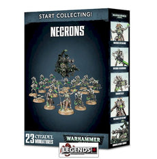 WARHAMMER 40K - START COLLECTING - NECRONS II    (NEW)