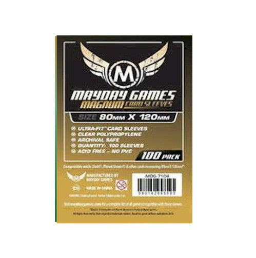 MAYDAY CARD SLEEVES - Card Game Card Sleeves MDG-7104 (80x120mm)