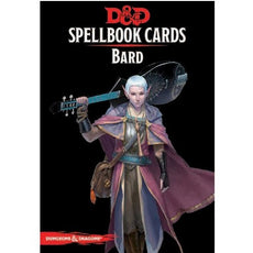 DUNGEONS & DRAGONS - 5th ED RPG - Spellbook Cards - Bard Deck
