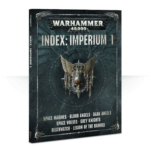 WARHAMMER 40K - INDEX: Imperium 1 - RULE BOOK