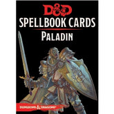 DUNGEONS & DRAGONS - 5th ED RPG - Spellbook Cards - Paladin Deck
