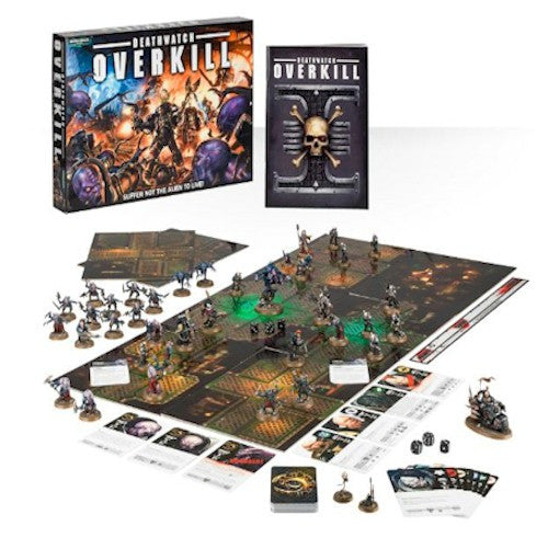 GAMES WORKSHOP BOXED GAMES - Deathwatch Overkill