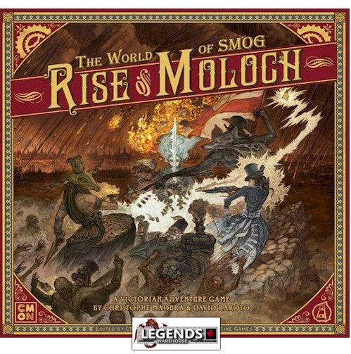 THE WORLD OF SMOG : RISE OF MOLOCH