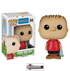 Pop! Animation: Peanuts Linus Van Pelt Pop! Vinyl Figure #50