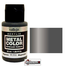 Vallejo Metal Color: Magnesium    Product #VAL 77711