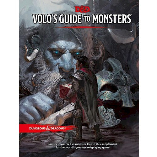 DUNGEONS & DRAGONS - 5th Edition RPG: Volo's Guide to Monsters