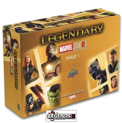 LEGENDARY : A Marvel Deck Building Game - Marvel Studios: The First Ten Years - Phase One