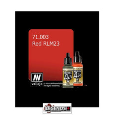 VALLEJO MODEL AIR:  :  Red RLM23 (17ml)  VAL 71.003