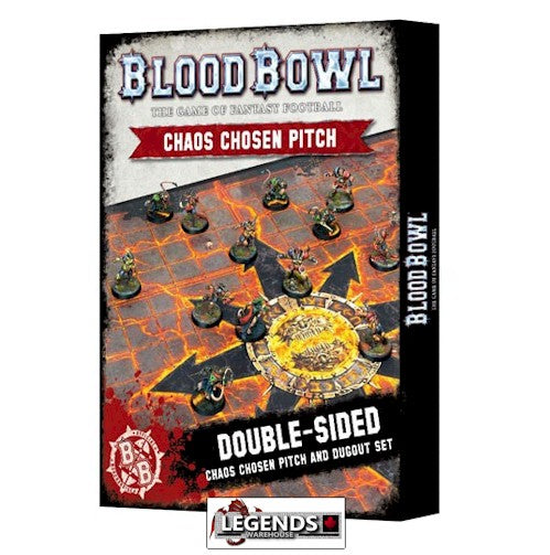 BLOOD BOWL - Chaos Pitch & Dugout Set