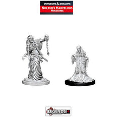 DUNGEONS & DRAGONS NOLZUR'S MARVELOUS UNPAINTED MINIATURES: Green Hag & Night Hag