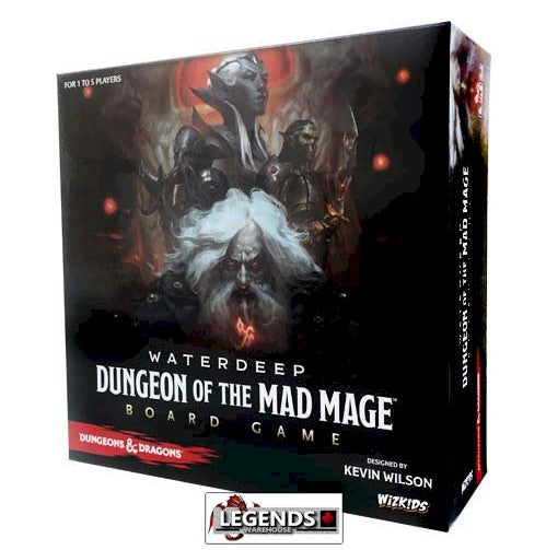 DUNGEONS & DRAGONS - Waterdeep - Dungeon of the Mad Mage Board Game (Standard Edition)