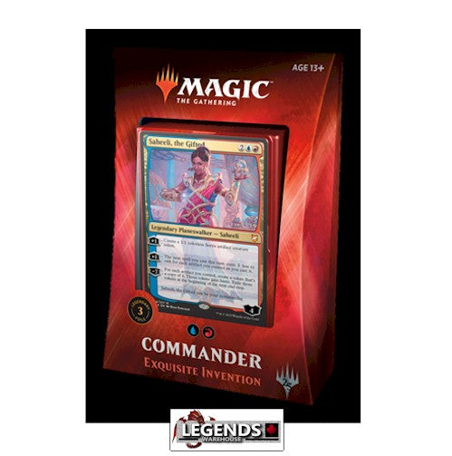 MAGIC COMMANDER - 2018 - Exquisite Invention