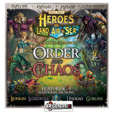 HEROES of LAND, AIR & SEA  - ORDER & CHAOS EXPANSION   (PRE-ORDER)