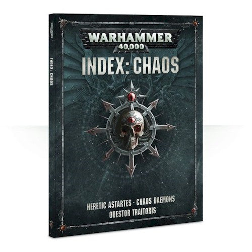 WARHAMMER 40K - Index: Chaos - RULE BOOK