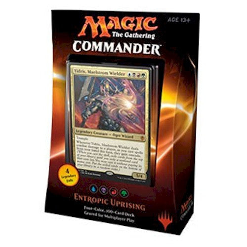 MAGIC COMMANDER - 2016 - ENTROPIC UPRISING