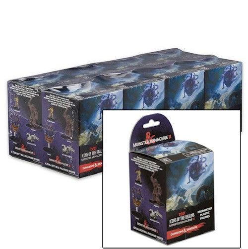 DUNGEONS & DRAGONS ICONS - Monster Menagerie 2  - Booster Brick (8)