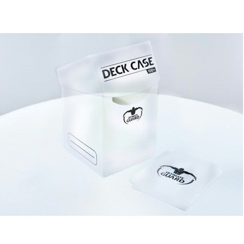 ULTIMATE GUARD - DECK BOXES - Deck Case 100+ - TRANSPARENT (Clear)