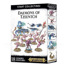 WARHAMMER AGE OF SIGMAR - START COLLECTING - DAEMONS OF TZEENTCH