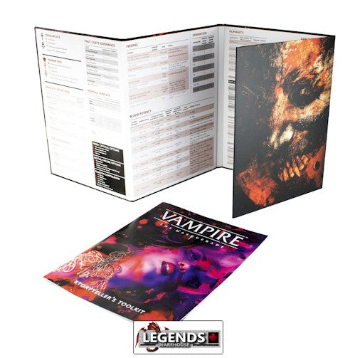 VAMPIRE:  THE MASQUERADE - 5TH EDITION STORYTELLER SCREEN KIT