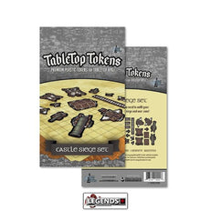 TABLETOP TOKENS - Castle Siege Set