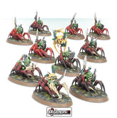 AGE OF SIGMAR - GLOOMSPITE GITZ - GROT SPIDER RIDERS
