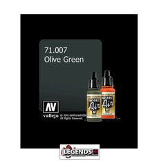 VALLEJO MODEL AIR:  :  Olive Green (17ml)  VAL 71.007