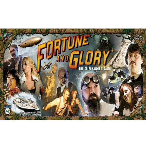 FORTUNE AND GLORY - THE CLIFFHANGER GAME