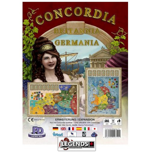 CONCORDIA - Britannia / Germania    EXPANSION