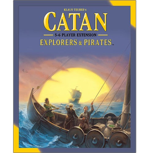 CATAN - EXPLORERS & PIRATES - 5-6 PLAYER EXTENSION