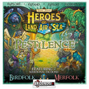 HEROES of LAND, AIR & SEA  - PESTILENCE EXPANSION   (PRE-ORDER)
