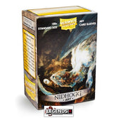 DRAGON SHIELD DECK SLEEVES  • NIDHOGG ART SLEEVES