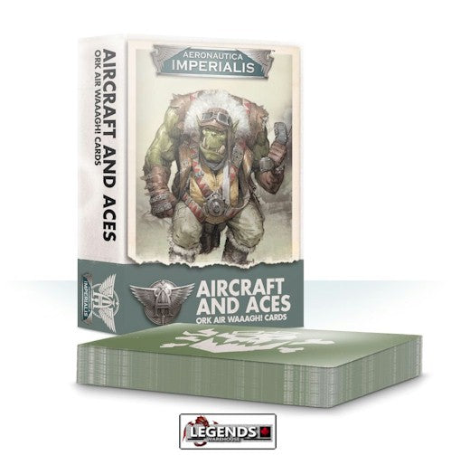 WARHAMMER:   Aeronautica Imperialis: Aircraft and Aces Ork Air Waaagh! Cards
