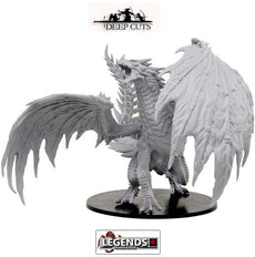 Deep Cuts - Unpainted Miniatures: Gargantuan Red Dragon (1) #WZK73144.