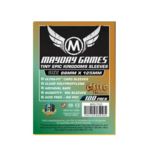 MAYDAY CARD SLEEVES - Card Game Card Sleeves MDG-7129 (88x125mm)
