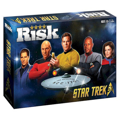 RISK - STAR TREK 50TH ANNIVERSARY