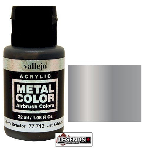 Vallejo Metal Color: Jet Exhaust     Product #VAL 77713