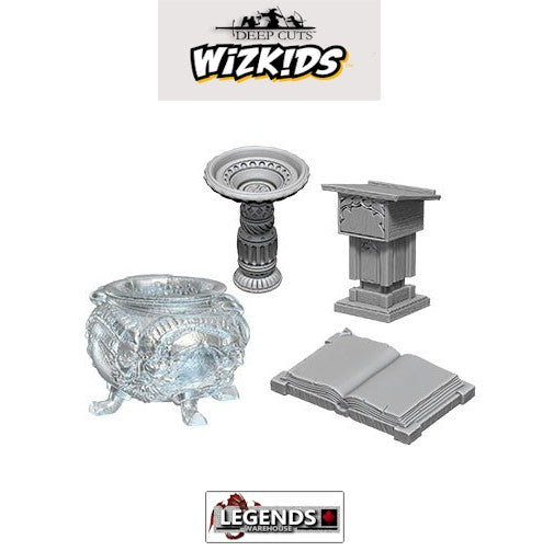 Deep Cuts Unpainted Miniatures:  Witches Den #WZK73370