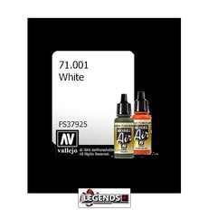 VALLEJO MODEL AIR:  : White (17ml)  VAL 71.001