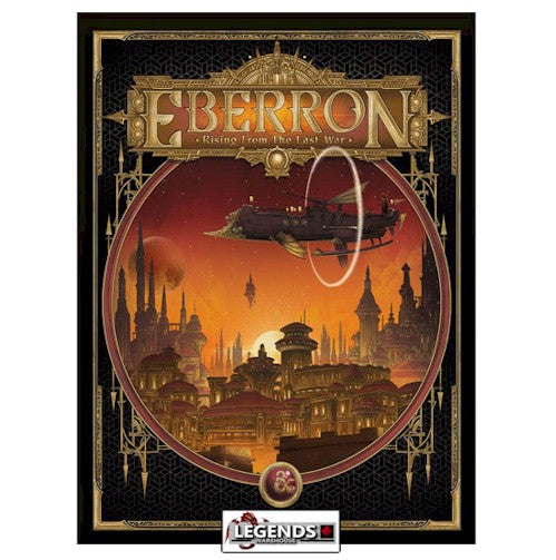 DUNGEONS & DRAGONS - 5th Edition RPG:  EBERRON - Rising from the Last War (Alternative Cover)