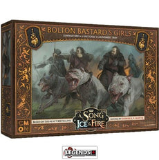 A Song of Ice & Fire: Tabletop Miniatures Game - Bolton Bastard's Girls  Product #CMNSIF502