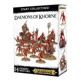 WARHAMMER AGE OF SIGMAR - START COLLECTING - DAEMONS OF KHORNE