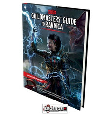 DUNGEONS & DRAGONS - 5th Edition RPG: Guildmaster's Guide to Ravnica (Hardcover)