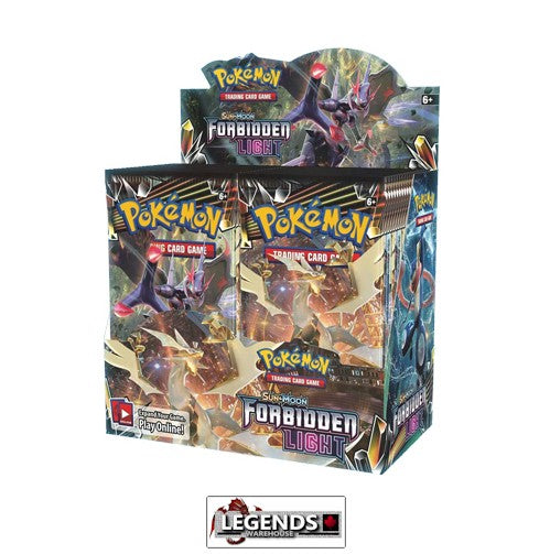 POKEMON - Sun and Moon: FORBIDDEN LIGHT Booster Box