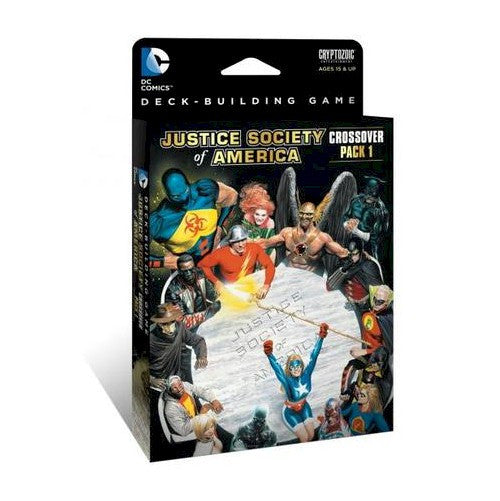 DC Comics Deck-Building Game - Crossover Pack #1 - Justice Society of America