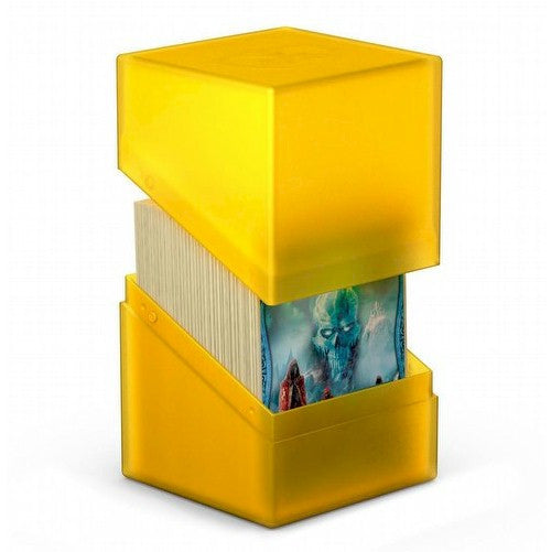 ULTIMATE GUARD - DECK BOXES - Boulder™ Deck Case 100+ - AMBER